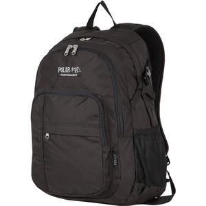 Рюкзак дорожный Polar П1991-05 черный саквояж дорожный polar цвет черный коричневый 52 5 л 7004 05