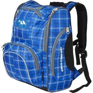 Рюкзак школьный Polar П3065А-04 синий Школа+ноутбук 5-10 класс Ergo-Comfort