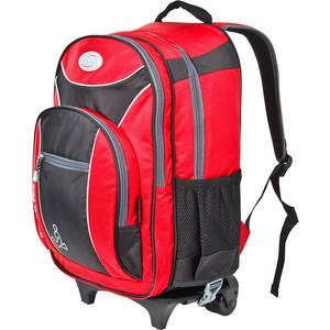 Рюкзак дорожный Polar П382 -01 красный на колесах