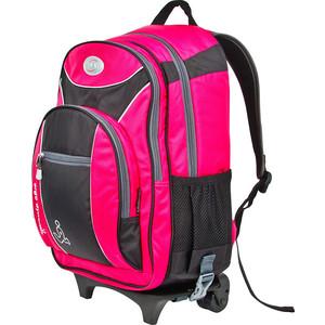 Рюкзак дорожный Polar П382 -16 розовый на колесах