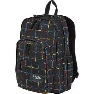 Рюкзак дорожный Polar П3901-05 черный саквояж дорожный polar цвет черный коричневый 52 5 л 7004 05
