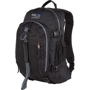Рюкзак дорожный Polar П3955-05 черный саквояж дорожный polar цвет черный коричневый 52 5 л 7004 05