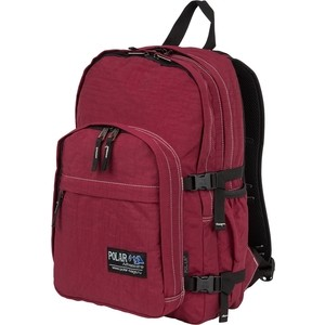 цены на Рюкзак дорожный Polar П901-14 бордовый жестк.спина  в интернет-магазинах