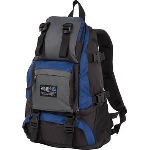Рюкзак дорожный Polar П956-04 синий двойное дно
