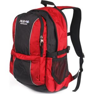 Рюкзак городской Polar ТК1108 красный вентилируемая спинка
