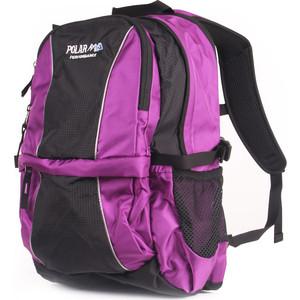 Рюкзак городской Polar ТК1108 фиолетовый вентилируемая спинка