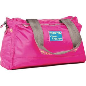 Сумка дорожная Polar П1288-15 pink малая