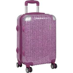 Чемодан Polar Р1011 (2-ой) розовый (20) пластик ABS малый (TH17-7108)