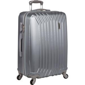 Чемодан Polar Р12032 (3-ой) св.серый (28) пластик ABS большой цена