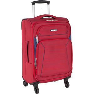 Чемодан Polar Р18А01 (2-ой) красный (19) малый тканевый облегченный (PS18A01) чемодан airport 72 см красный 2 колеса