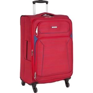 Чемодан Polar Р18А01 (2-ой) красный (23) малый тканевый облегченный (PS18A01) чемодан airport 72 см красный 2 колеса