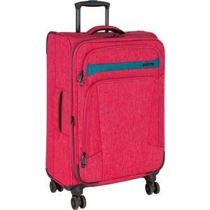 Чемодан Polar Р18А13 (2-ой) красный (23) малый тканевый облегченный (PS18A13) чемодан airport 72 см красный 2 колеса