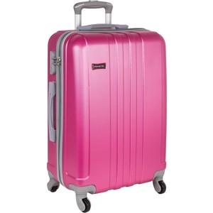 Чемодан Polar Р22016 (3-ой) розовый (26) пластик ABS средний