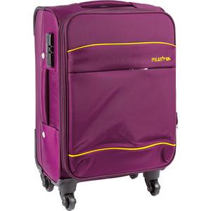 Чемодан Polar Р8719 (3-ой) фиолетовый (24) средний 4 колеса чемодан airport 78 см темно синий 4 колеса
