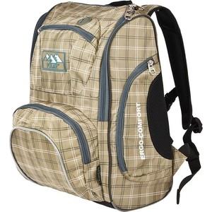 Рюкзак школьный Polar П3065А-13 бежевый Школа+ноутбук 5-10 класс Ergo-Comfort