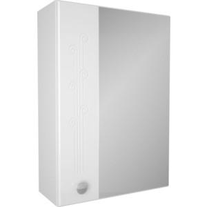 Зеркальный шкаф Меркана Авила 50 белый (2-214-000-О)