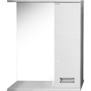 Зеркало-шкаф Меркана Руно 55 белый (34184)