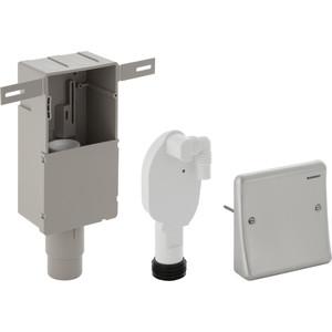 Сифон Geberit скрытого монтажа, для подключения стиральной или посудомоечной машины, с крышкой (152.232.00.1)