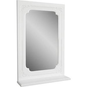 Фото - Зеркало Меркана Кастилия 50 белое (2-276-000) зеркало меркана виттория 82 см 2 шкафа по бокам свет розетка выключатель 27666