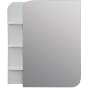 Зеркальный шкаф Меркана Ладья 50 белый (32741)