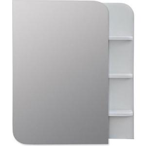Зеркальный шкаф Меркана Ладья 50 белый (32742) цена в Москве и Питере