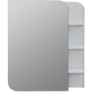 Зеркальный шкаф Меркана Ладья 50 белый (32742)