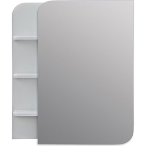 Зеркальный шкаф Меркана Ладья 55 белый (33159)