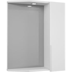 Зеркало-шкаф Меркана Болония 55 с подсветкой, белый (2-212-000-R-S)