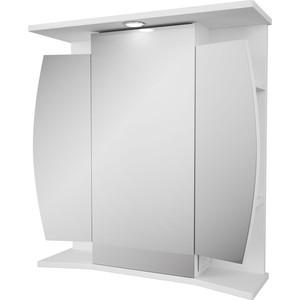 Зеркальный шкаф Меркана Валенсия 66 с подсветкой, белый (2-042-000-S)