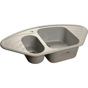 Кухонная мойка GranFest Corner GF-C960E серая granfest гранит угловая 960x510 gf c960e черная