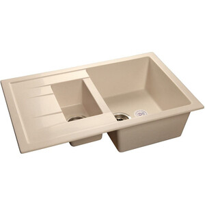 Кухонная мойка GranFest Quadro GF-Q775KL белая