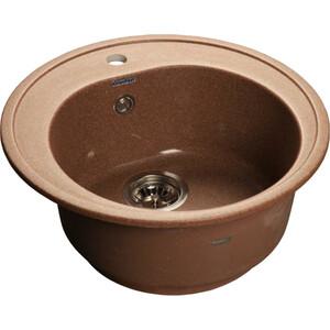 Кухонная мойка GranFest Rondo GF-R510 терракот кухонная мойка granfest rondo gf r510 розовый