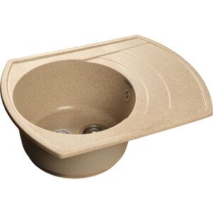 все цены на Кухонная мойка GranFest Rondo GF-R650L песок онлайн