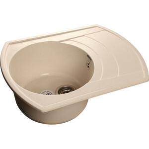 все цены на Кухонная мойка GranFest Rondo GF-R650L белая онлайн