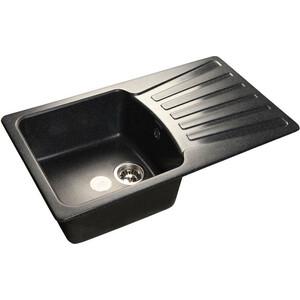 Кухонная мойка GranFest Standart GF-S850L черная granfest гранит угловая 960x510 gf c960e черная