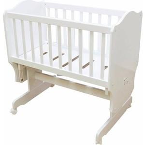 Кроватка-колыбель Vikalex Паулина С-862, белый (С-862)
