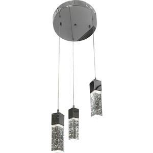 Подвесная светодиодная люстра Kink Light 08510-3A(4000К) люстра kink light 08510 5a 4000к аква
