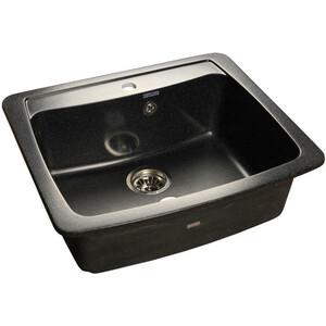 Кухонная мойка GranFest Standart GF-S605 черная