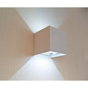 Уличный настенный светодиодный светильник Kink Light 08585,01(4000K) kink light светильник фейерверк хром d76 h13 led 4x12w 4000k