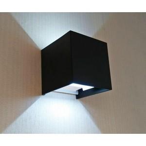Уличный настенный светодиодный светильник Kink Light 08585,19(4000K) kink light светильник фейерверк хром d76 h13 led 4x12w 4000k
