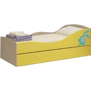 Детская двухъярусная кровать Регион 58 Юниор-10 МДФ 80x160 на авто 202 регион