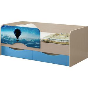 Детская кровать Регион 58 Юниор-12 МДФ Шар 80x160 на авто 202 регион