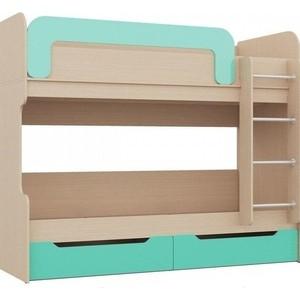 Детская двухъярусная кровать Миф Юниор-1 80 нормобакт юниор табл n20