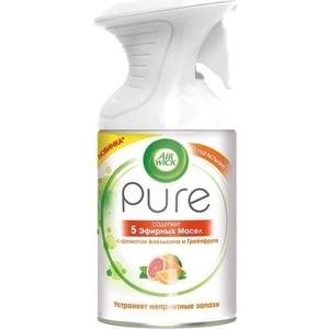 Освежитель воздуха Airwick Pure 5 Эфирных Масел Апельсин и грейпфрут 250 мл