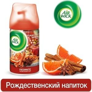 Освежитель воздуха Airwick Рождественский напиток, сменный баллон 250 мл