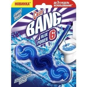Туалетный блок Cillit BANG Атлантический взрыв Blue Power Waves 39 г