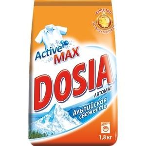 Стиральный порошок Dosia AUTOMAT Альпийская свежесть, 1,8 кг ароматизатор 5 element альпийская свежесть
