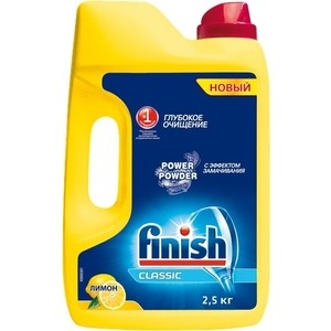 купить Порошок для посудомоечной машины (ПММ) Finish Лимон 2,5 кг недорого