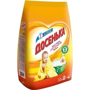 Стиральный порошок Досенька для детского белья, универсальный 3,7 кг