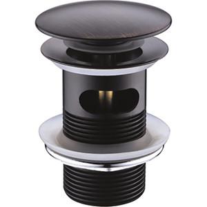 Донный клапан Wasserkraft Push-up темная бронза (A047)